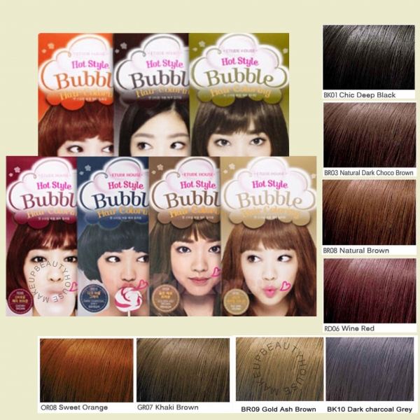 Hot Style Bubble Hair Color