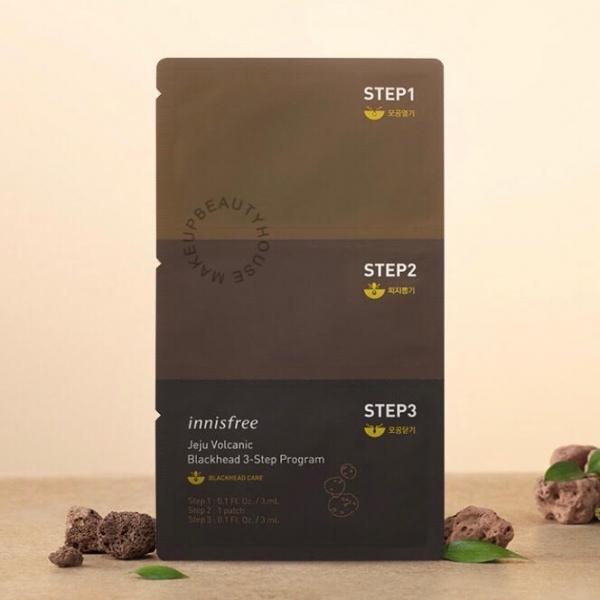 Jeju Volcanic Blackhead 3 Step Program
