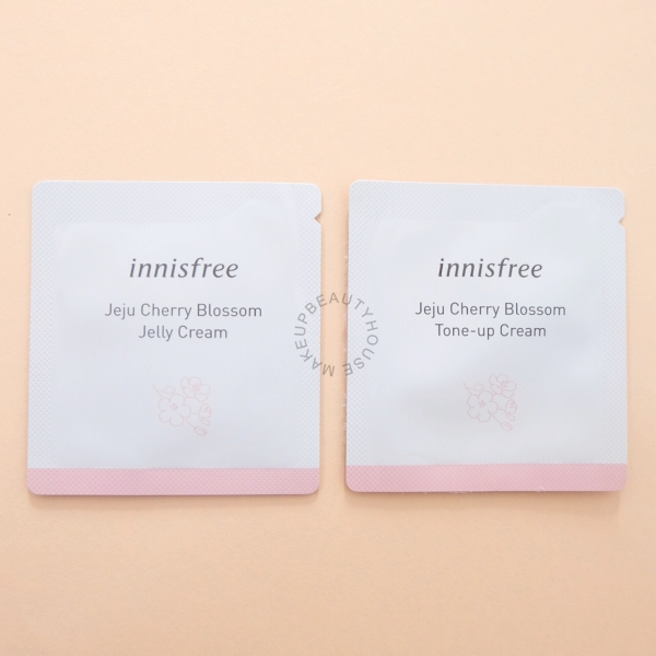 Jeju Cherry Blossom Tone up Cream / Jelly Cream 1ml