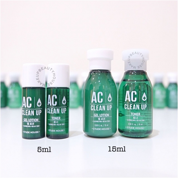 AC Clean Up Toner & Gel Lotion