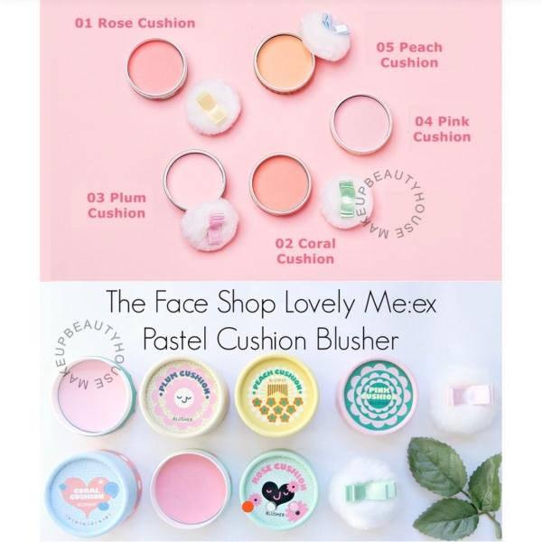 Lovely ME:EX Pastel Cushion Blusher