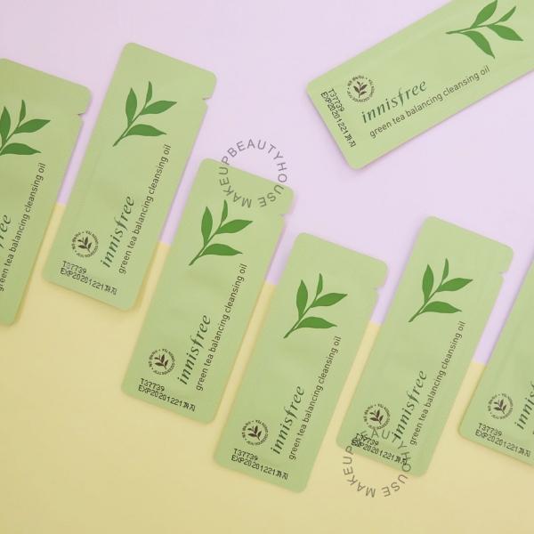 Green Tea Balancing Cleansing Oil 1ml [sample sachet]