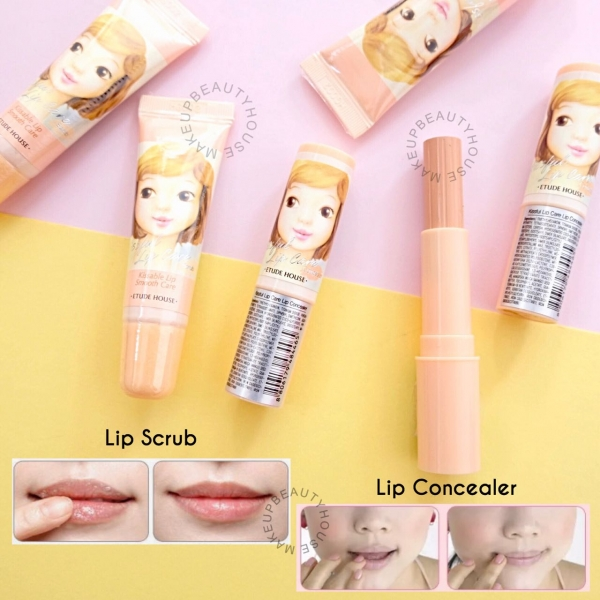 Kissful Lip Care Lip Concealer /  Lip Scrub