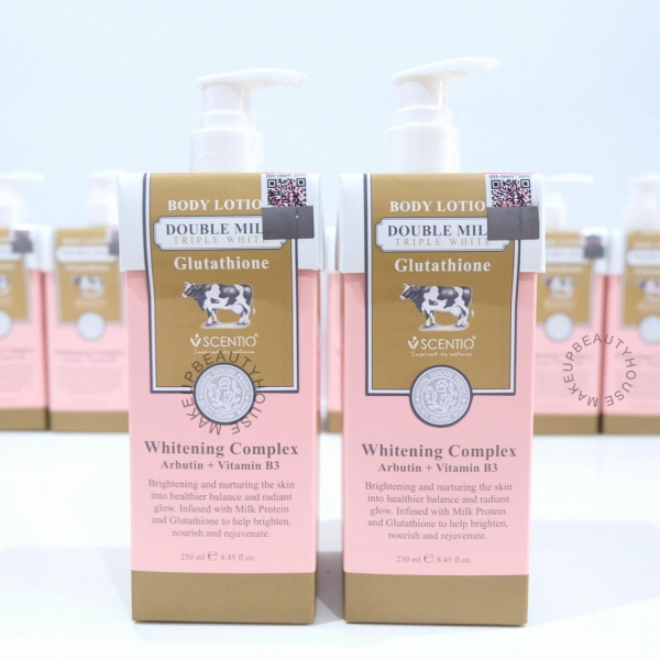Double Milk Triple White Body Lotion