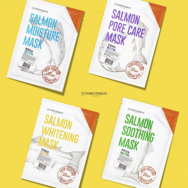Salmon Sheet Mask [BPOM]