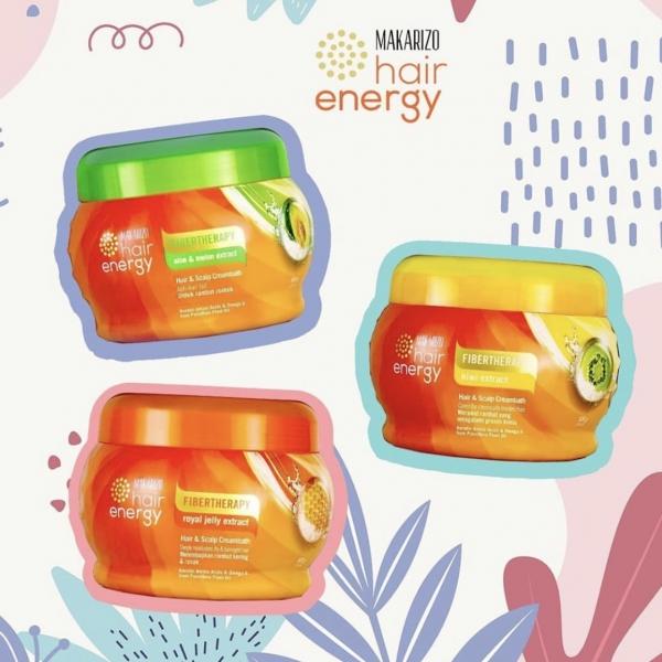 Hair Energy Fibertherapy Hair & Scalp Creambath 500g