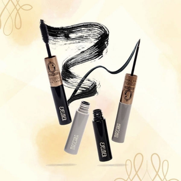 Gorgeus Wink Celebs Mascara Eyeliner 2 in 1 - MakeUp Waterproof