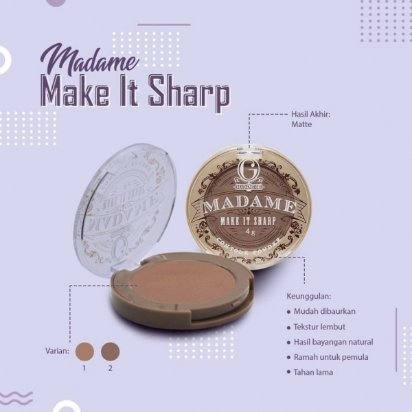 Madame Make It Sharp - MakeUp Contour Powder