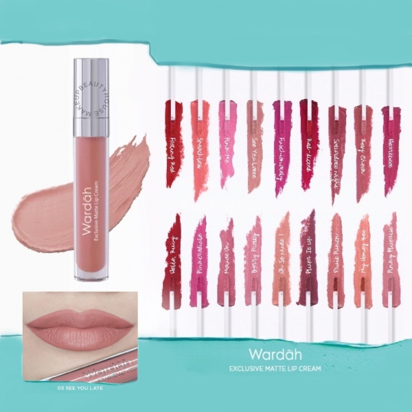 Exclusive Matte Lip Cream 4gr