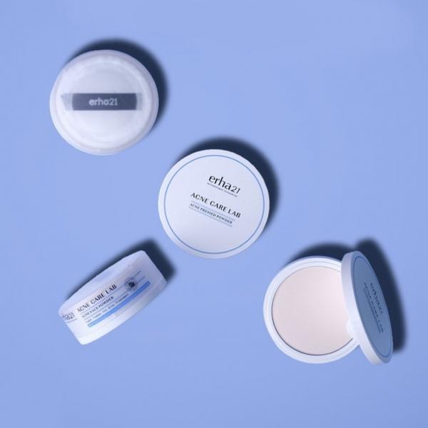 ERHA Acne Care Lab Face Powder / Pressed Powder - Bedak Tabur / Padat Kulit Jerawat