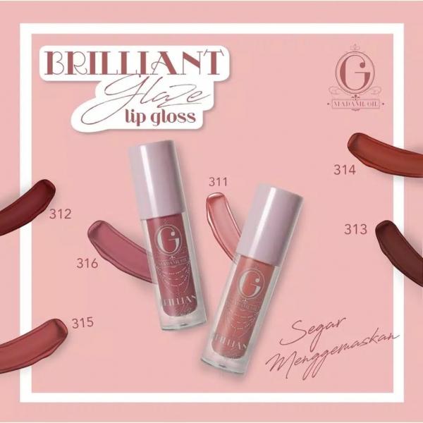 MADAME GIE Brilliant Glaze Lip Liquide - Lip Gloss