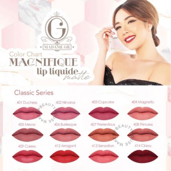 MADAME GIE Magnifique Lip Liquide Matte Nude /  Classic Series - Lip Cream