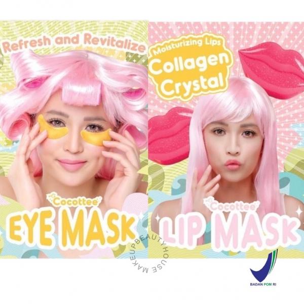 COCOTTEE [BPOM] Eye Mask / Lip Mask (Masker Mata / Pelembab Bibir)