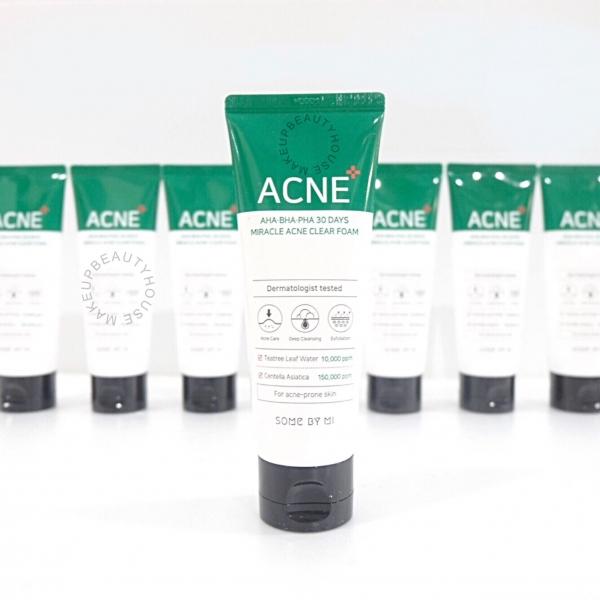 AHA-BHA-PHA 30 Days Miracle Acne Clear Foam 100ml