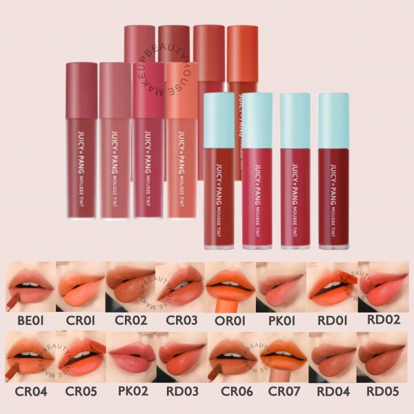 Juicy Pang Mousse Tint 5,5gr