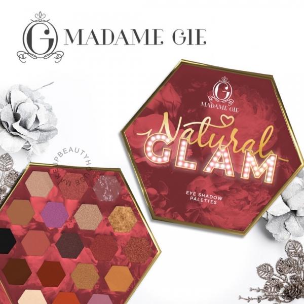 MADAME GIE Natural Glam - Make Up Eyeshadow Palette