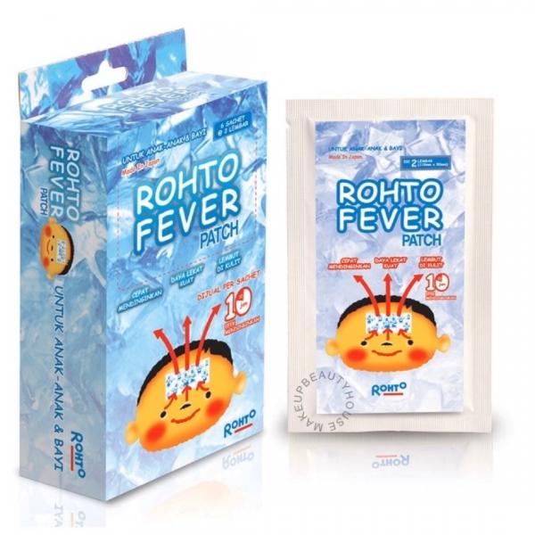 ROHTO Fever Patch – Plester Penurun Panas (2pcs)