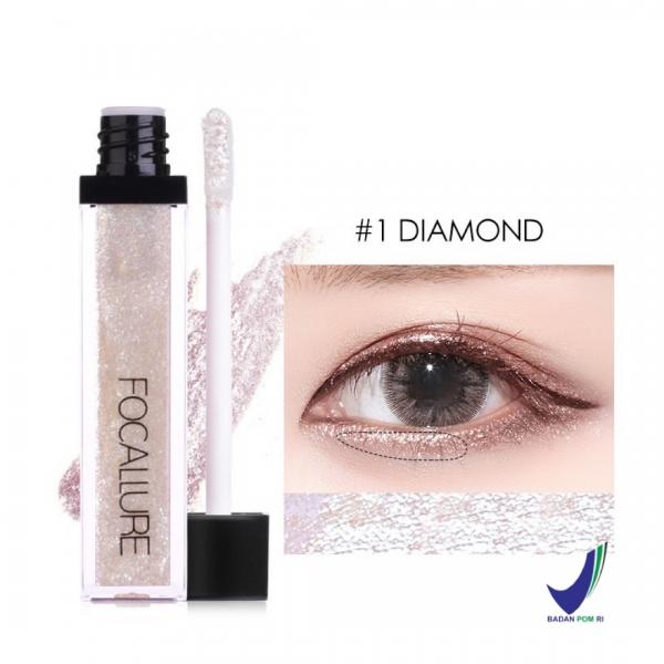 FOCALLURE (FA56) Glitter & Glow Liquid Eyeshadow
