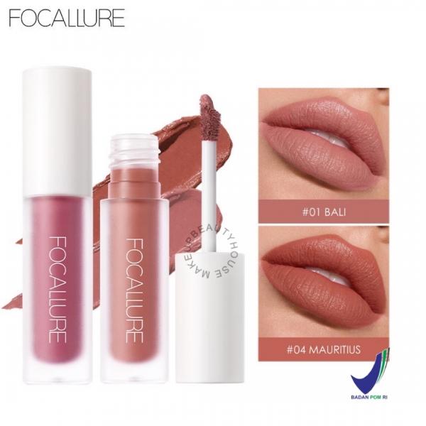 FOCALLURE [BPOM] FOCALLURE FA134 Staymax Liquid Lipstick / Matte Lip Ink