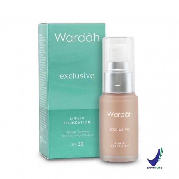 WARDAH Exclusive Liquid Foundation 20ml