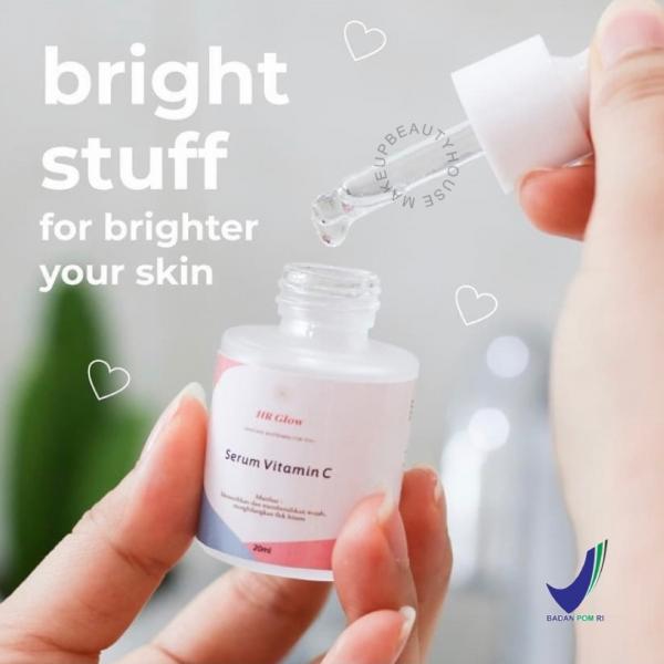 HR GLOW Serum Vitamin C / serum wajah / pemutih wajah glowing