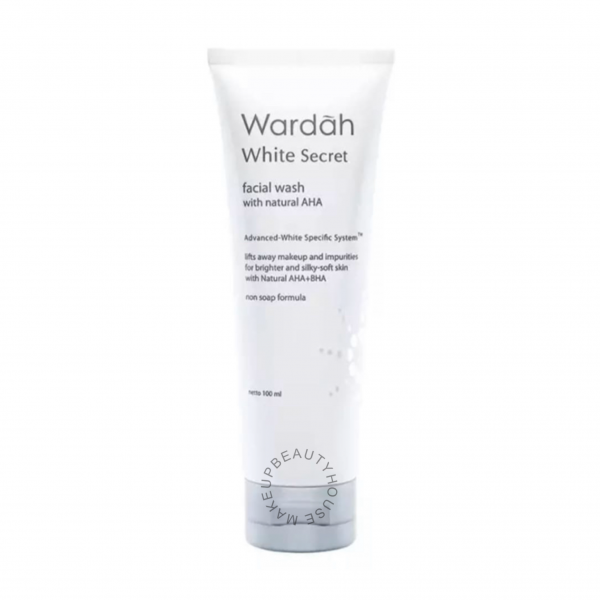 White Secret Facial Wash with AHA 100 ml