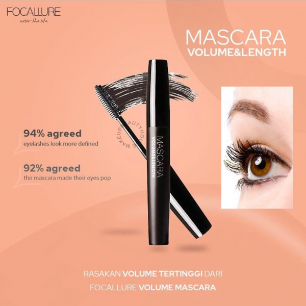 Mascara Volume and Lenght Original (BPOM)