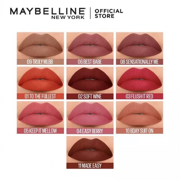 Sensational Liquid Matte Lip Tint 7g